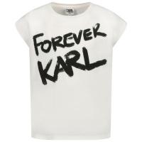 Afbeelding van Karl Lagerfeld Z15267 kinder t-shirt wit