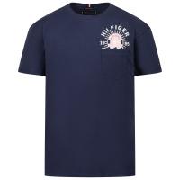 Afbeelding van Tommy Hilfiger KB0KB06530 kinder t-shirt navy