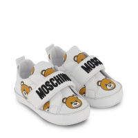 Afbeelding van Moschino 68712 babysneakers wit
