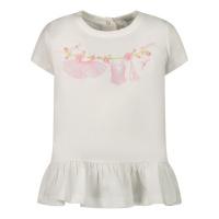 Afbeelding van MonnaLisa 397608SK baby tuniekje off white