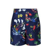 Afbeelding van Ralph Lauren 320785589001 baby badkleding blauw/rood