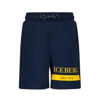 Afbeelding van Iceberg BFICE1109B baby shorts navy