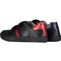 Afbeelding van Gucci NEWACE VL kindersneaker zwart