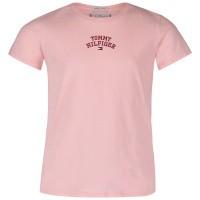 Afbeelding van Tommy Hilfiger KG0KG04192 kinder t-shirt licht roze