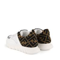Afbeelding van Fendi JMR333 A8CJ kindersneakers wit