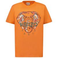 Afbeelding van Kenzo K25114 kinder t-shirt zalm