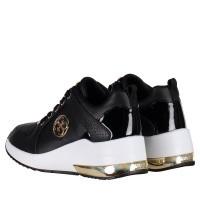 Afbeelding van Guess FL5JA2LEA12 dames sneakers zwart