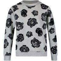 Picture of Kenzo KM15568 kids sweater grey