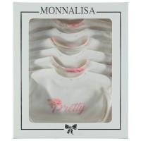 Afbeelding van MonnaLisa 352SEV baby kadodoos off white