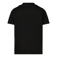 Afbeelding van Dsquared2 DQ0281 baby t-shirt zwart