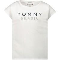Afbeelding van Tommy Hilfiger KG0KG04713 kinder t-shirt wit