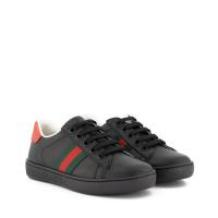 Afbeelding van Gucci 433148 kindersneakers zwart