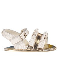 Afbeelding van Michael Kors B290044 baby sandalen off white