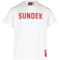 Afbeelding van Sundek B025TEJ7800 kinder t-shirt wit