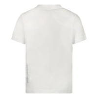 Afbeelding van Dsquared2 DQ0029 baby t-shirt wit/rood