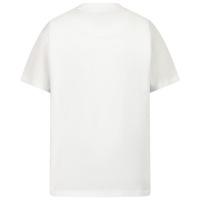 Afbeelding van Burberry 8028811 kinder t-shirt wit