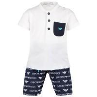 Afbeelding van Armani 3GHV03 babysetje wit
