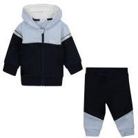 Afbeelding van Boss J98306 baby joggingpak navy