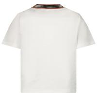 Afbeelding van Burberry 8036938 baby t-shirt wit