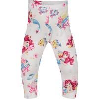 Afbeelding van MonnaLisa 313426 baby legging wit