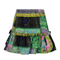 Afbeelding van Versace 1000360 1A00297 baby rokje turquoise