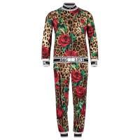 Afbeelding van Dolce & Gabbana L5JY06 kinder joggingpak panter
