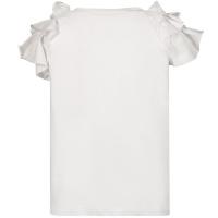Afbeelding van Liu Jo KA1069 kinder t-shirt wit