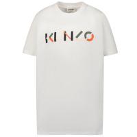 Afbeelding van Kenzo K25112 kinder t-shirt wit