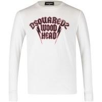 Afbeelding van Dsquared2 DQ030S kinder t-shirt wit
