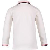 Afbeelding van Moncler 8305505 baby polo off white