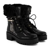 Afbeelding van Moschino JA21076 dames laarzen zwart