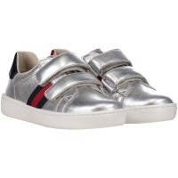 Picture of Gucci 455447 DXD60 kids sneaker silver