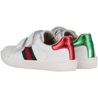 Picture of Gucci 455447 CPWP0 kids sneaker white