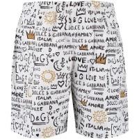 Afbeelding van Dolce & Gabbana L4U824 kinder zwemshort wit