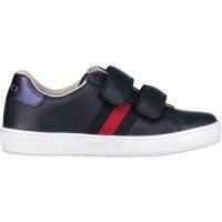 Afbeelding van Gucci NEWACE VL kindersneaker navy