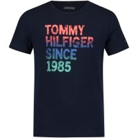 Picture of Tommy Hilfiger KB0KB04112 kids shirt navy