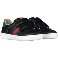 Afbeelding van Gucci 455447 DF720 kindersneakers zwart