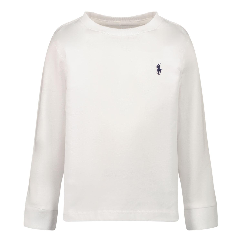 Afbeelding van Ralph Lauren 843804 baby t-shirt wit
