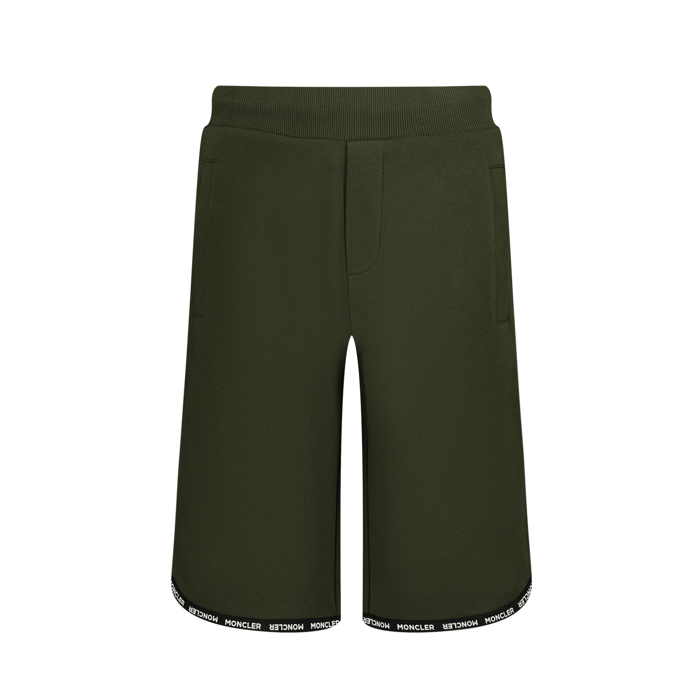 Afbeelding van Moncler 8H74720 kinder shorts donker groen