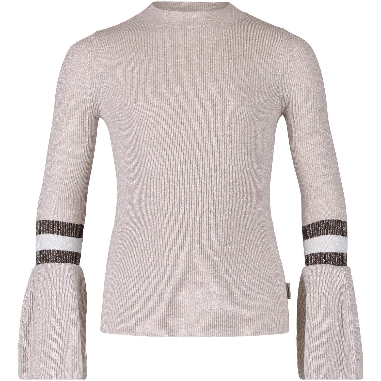 Afbeelding van Reinders VEW18G807B kinder t-shirt licht beige