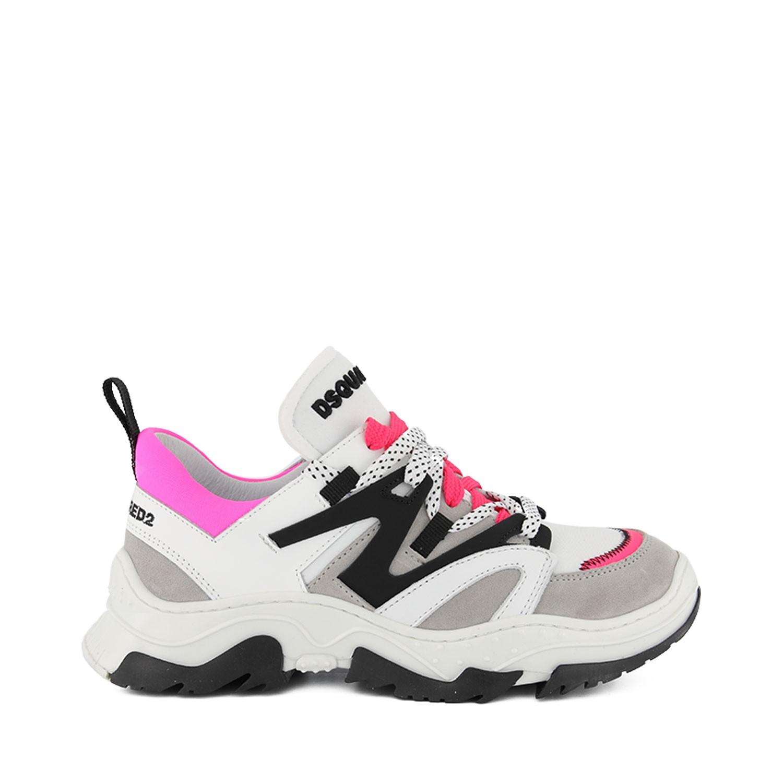 Afbeelding van Dsquared2 63537 kindersneakers fluor roze