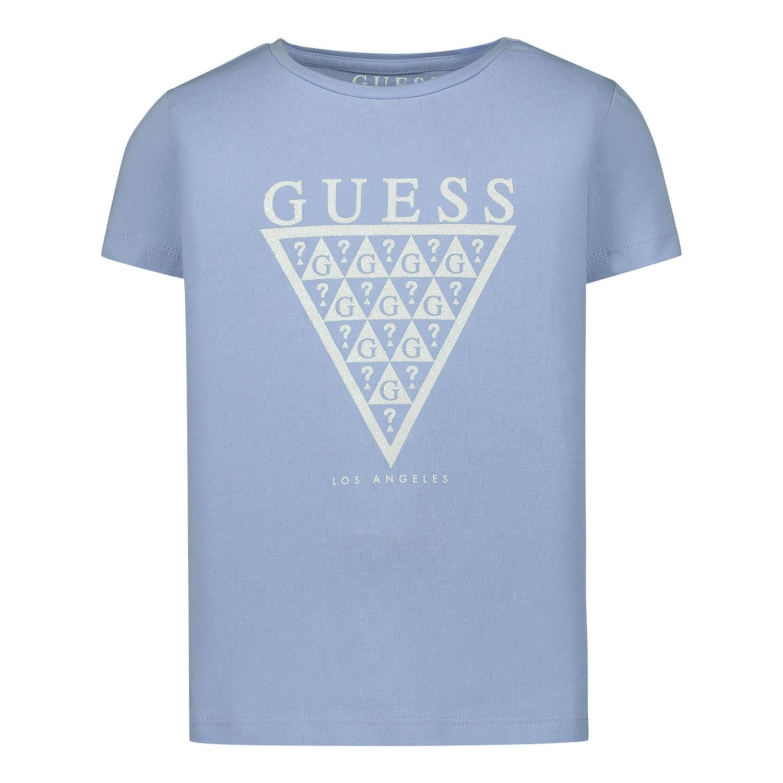 Afbeelding van Guess K01K14 kinder t-shirt licht blauw