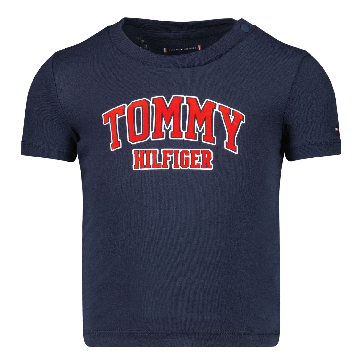 Afbeelding van Tommy Hilfiger KN0KN01272 baby t-shirt navy