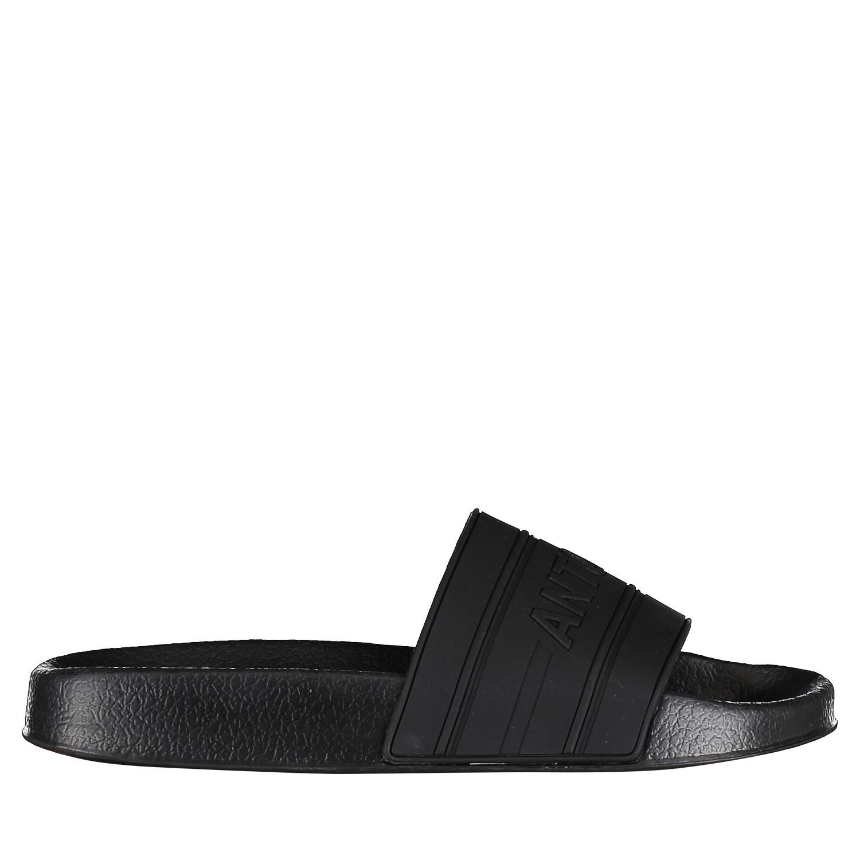 Afbeelding van Antony Morato MMFW01098 heren slippers zwart