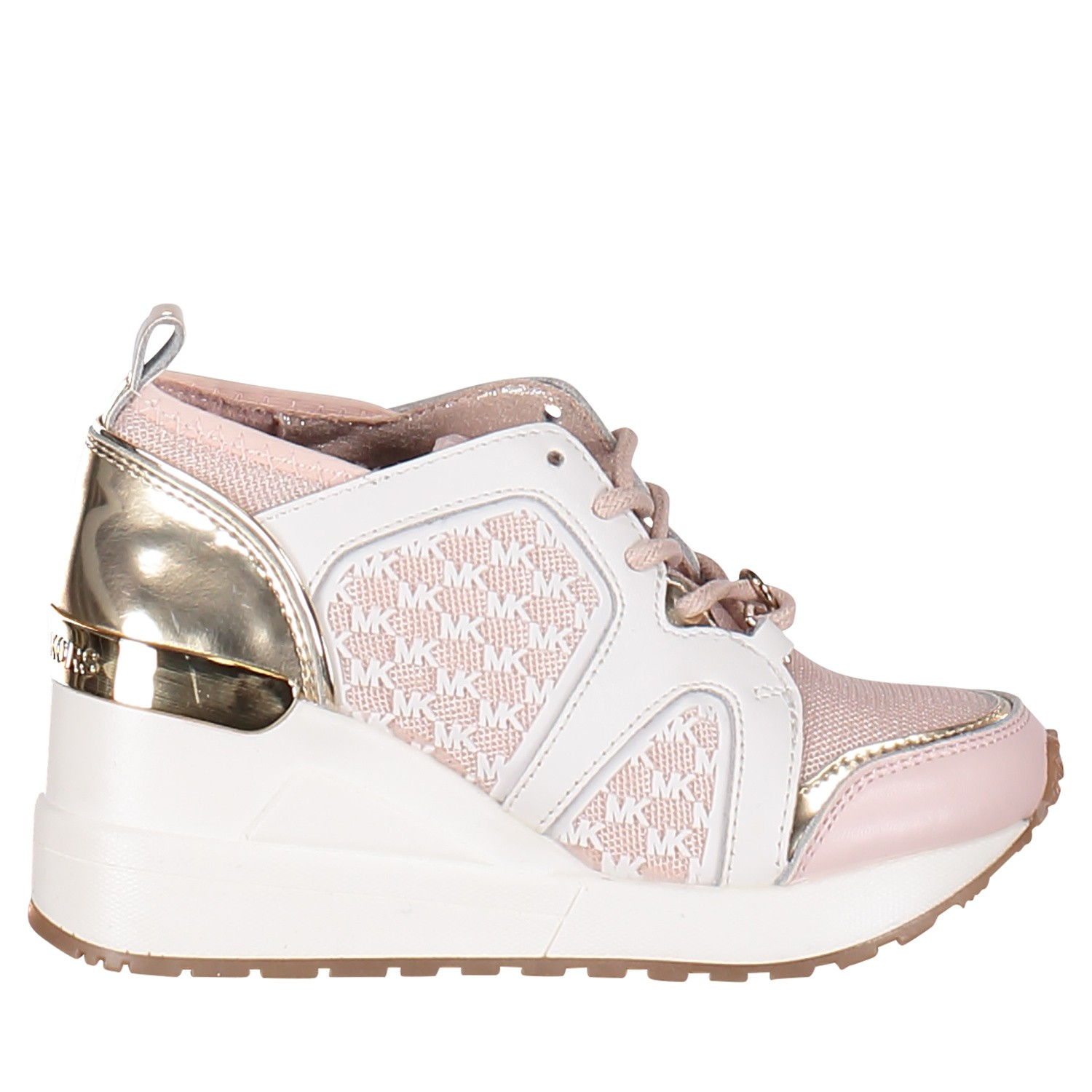 0f749fff04510f Picture of Michael Kors ZIA NEO CALI kids sneakers light pink