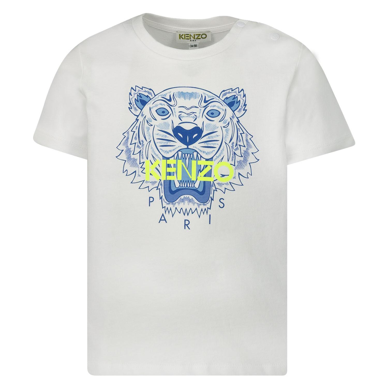 Afbeelding van Kenzo 10718BB baby t-shirt wit