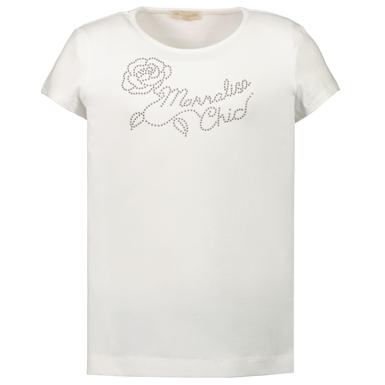 Afbeelding van MonnaLisa 716603AC kinder t-shirt off white