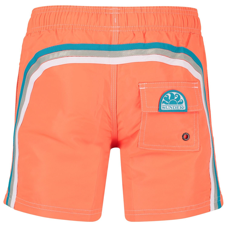 7ab9f463ed3cc5 Sundek B504Bdta100 jongens kinder zwemkleding fluor oranje bij ...