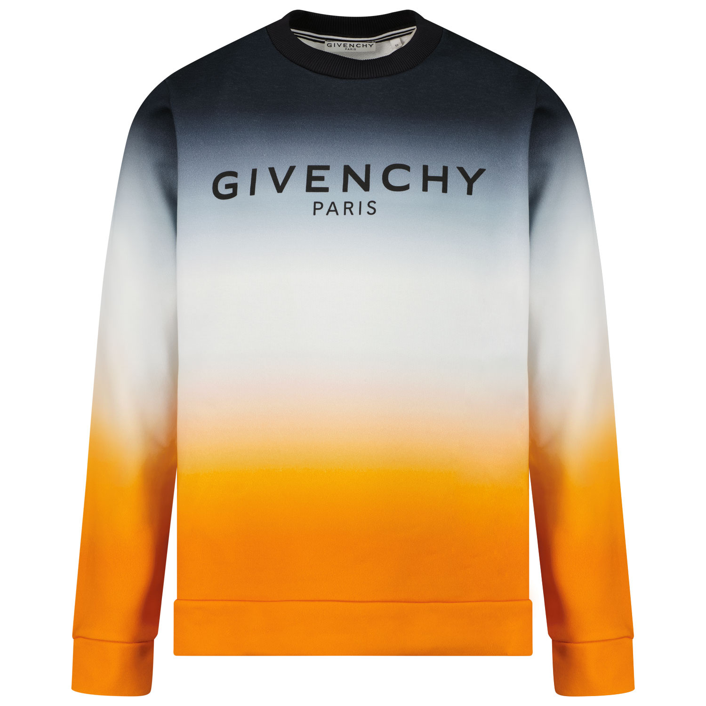 Afbeelding van Givenchy H25243 kindertrui oranje