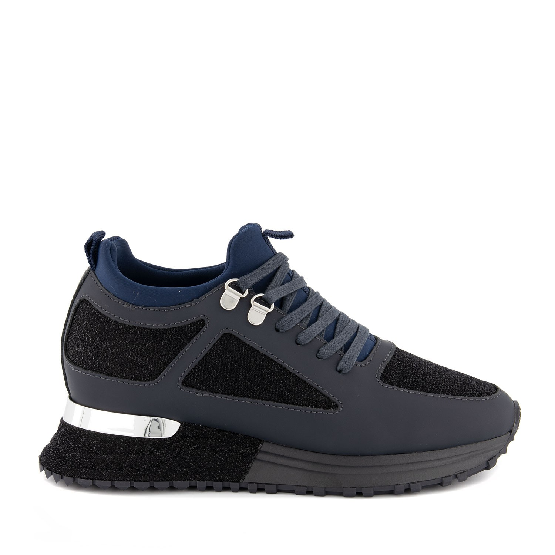 Afbeelding van mallet TEW2018NV dames sneakers zwart